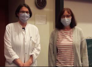 Neue Sprecherin PD Dr. Kathrin Doppler und stellvertretende Sprecherin PD Dr. Erdmute Kunstmann